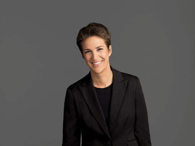 MSNBC's Rachel Maddow ended the night in tears. So did many of her viewers. (file)
