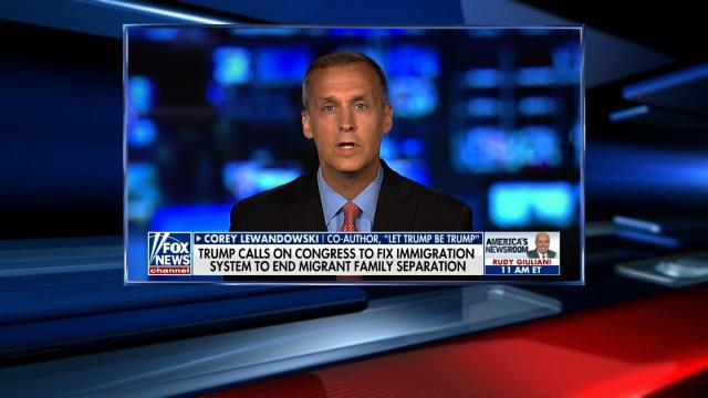 Fox News anchor Sandra Smith gave Corey Lewandowski multiple opportunities Wednesday morning to apologize for his dismissive comments about a 10-year-old with Down Syndrome separated from her parents at the border. But Lewandowski was not backing down.