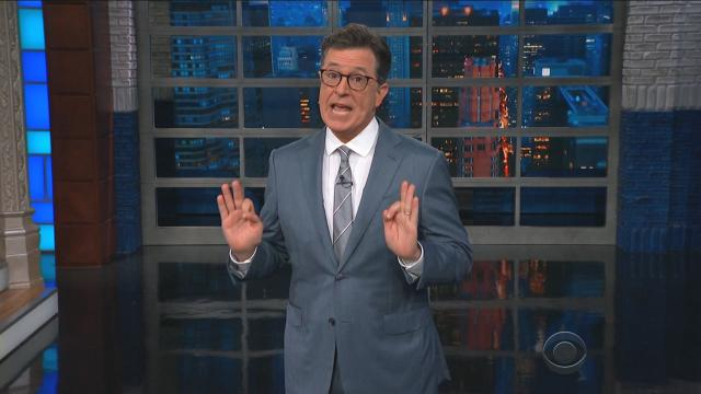 Late night hosts like Jimmy Kimmel and Stephen Colbert went after President Donald Trump for his comments made during Monday's summit with Russian President Vladimir Putin in Helsinki, Finland.