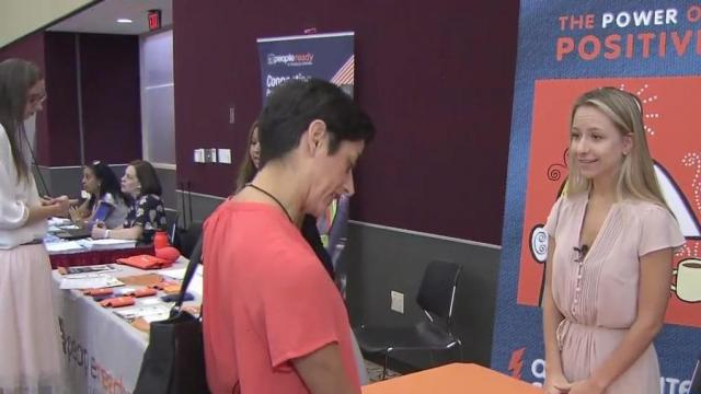 Dozens of employers, hundreds of job seekers converge at NC