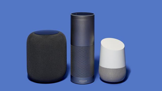From left: Apple's HomePod speaker, Amazon's Echo speaker, and Google's Home Smart Speaker. Digital assistants like these speakers can listen to you. And they can talk back. But that doesn't mean they can carry on a good conversation. (Jens Mortensen/The New York Times)