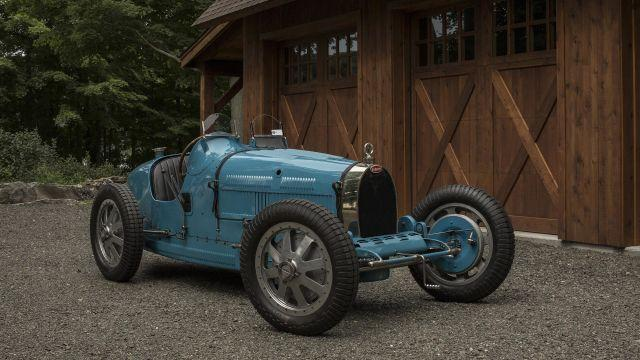 Doug Cushnie's 1927 Bugatti in Sherman, Conn., Aug. 21, 2018. The 10th United States Bugatti Grand Prix is expected to attract some 80 examples of the eponymous marque from all around the world to Lime Rock, Conn. for three days of racing, rallies, a concours, and all-around hobnobbing. (Bryan Anselm/The New York Times)