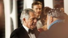 IMAGES: Les Moonves, Longtime CBS Chief, Steps Down