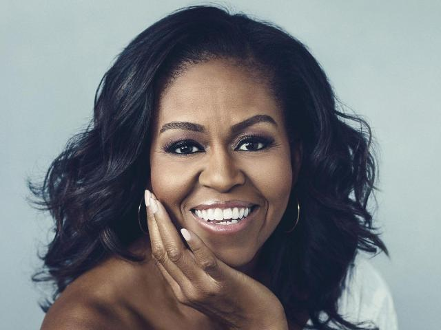 Michelle Obama's Big Book Trip: 'It's Like You're Looking at a Madonna T...