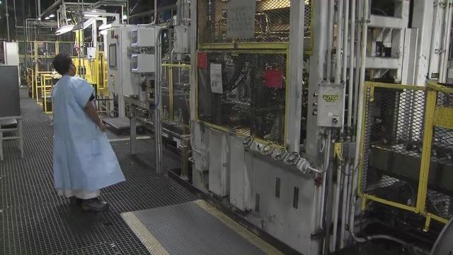 Rocky Mount engine plant boosts economy, sees record growth