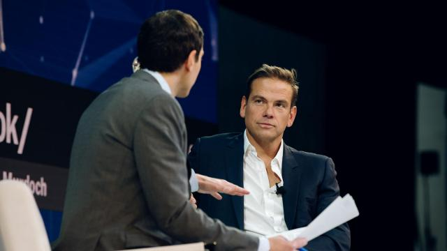 **EMBARGO: No electronic distribution, Web posting or street sales before Tuesday, 02:45 a.m. ET, Nov. 6, 2018. No exceptions for any reasons. EMBARGO set by source.** Lachlan Murdoch, co-chairman of 21st Century Fox, at the annual DealBook conference in New York, Nov. 1, 2018. (Mike Cohen/The New York Times)
