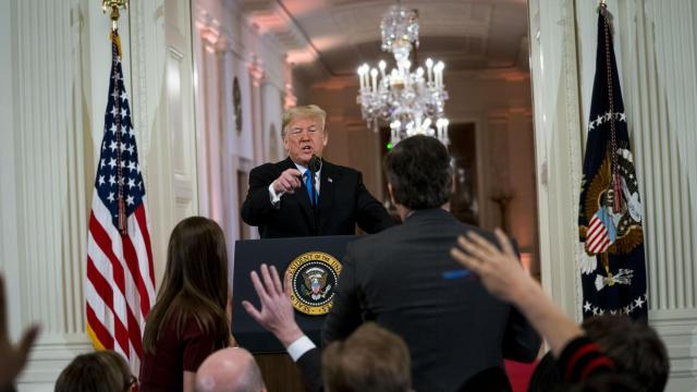CNN Sues Trump Administration for Barring Acosta From White House