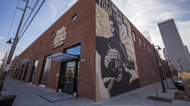 FILE -- The Woody Guthrie Center in Tulsa, Okla., Feb. 17, 2016. If economic growth is increasingly concentrated in a few big, wealthy cities, what are the prospects for smaller places like Tulsa, above? Policy experts have some ideas. (Shane Brown/The New York Times)