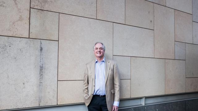 FILE-- Paul Polman, chief executive of the consumer goods company Unilever, in New York, Sept. 23, 2015. When Polman was made chief executive of Unilever in 2009, he was regarded as a safe choice to lead the maker of Hellmann's mayonnaise, Dove soap and Ben & Jerry's ice cream. But Polman, who on Nov. 29, 2018, announced that he would step down at the end of the year, quickly set about making dramatic changes when he took over Unilever. (Alex Welsh/The New York Times)