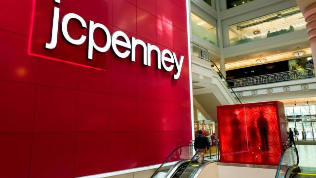 JCPenney stock is now 97 cents a share