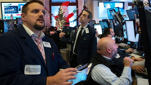 Stocks try to round out 2018 with a gain