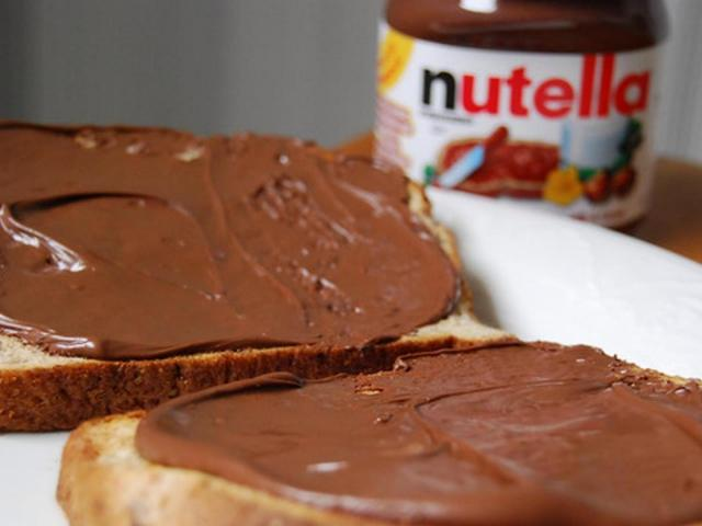Nutella  (labeled for reuse on Google)