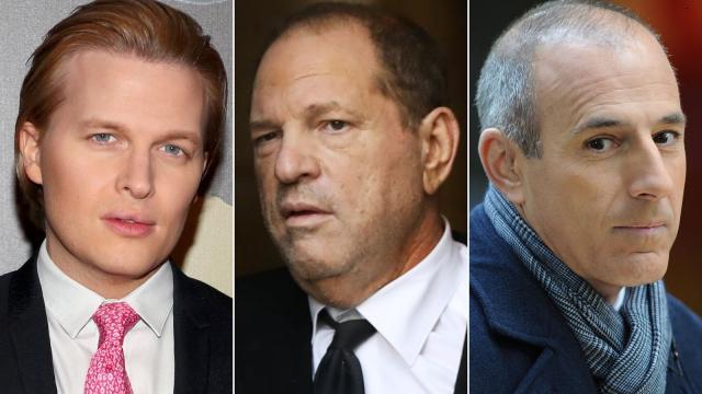 Ronan Farrow alleges Harvey Weinstein threatened NBC with Matt Lauer's secrets