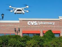 Drone drug delivery