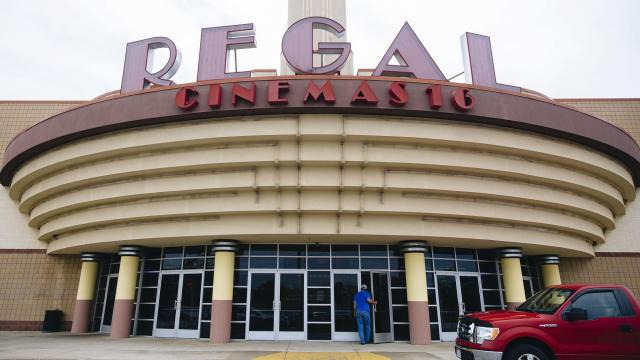FILE -- A Regal Cinemas 16 in Medina, Ohio, Aug. 1, 2018. The Justice Department said on Nov. 18, 2019, that it planned to overturn antitrust-related movie distribution rules from the early days of Hollywood, citing an entertainment landscape that has been radically reshaped by technology. (Allison Farrand/The New York Times)