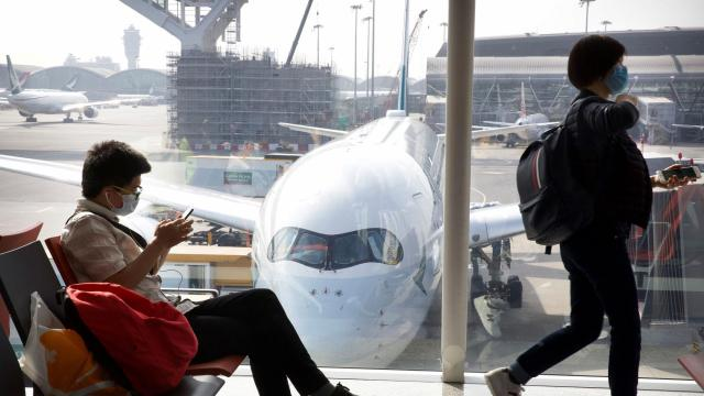 US airline stocks fall on coronavirus fears