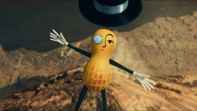 Mr. Peanut is dead for some reason