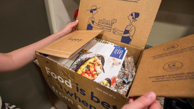 Blue Apron may be up for sale as losses mount