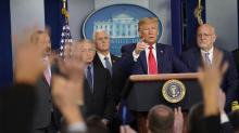 IMAGES: Fact check: Trump blames Obama for limits on coronavirus testing