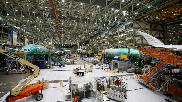 Boeing temporarily suspending production of 787 planes at South Carolina plant because of coronavirus
