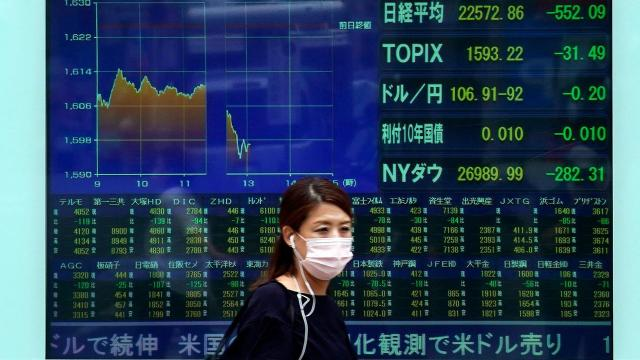 Dow plummets more than 1,000 points as investors grow fearful about the economy