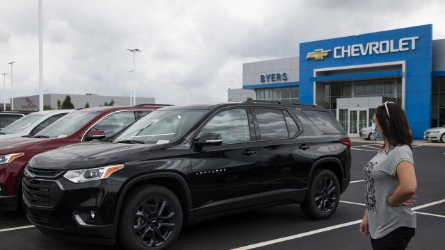 Car sales are rebounding, but they're still not back to pre-pandemic levels