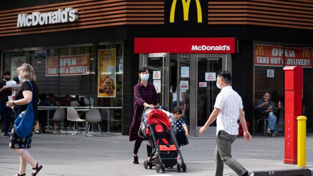 Spicy chicken nuggets and Travis Scott help boost McDonald's sales