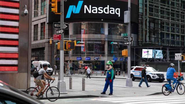 Nasdaq soars as tech stocks lead a market rally