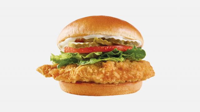 Wendy's just released a new fried chicken sandwich