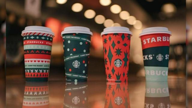 Here's what this year's Starbucks holiday cups look like