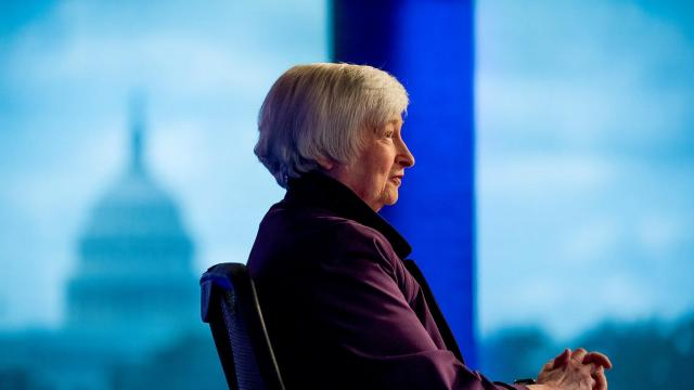 Yellen makes a case for bold stimulus spending on Capitol Hill