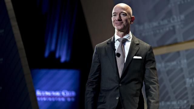 Jeff Bezos has been halfway out the door at Amazon for a while