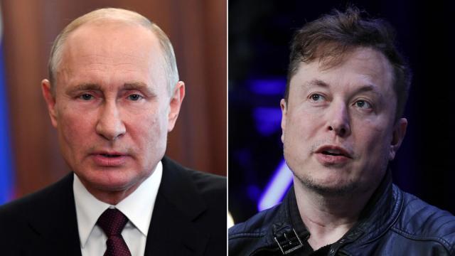 Elon Musk invites Vladimir Putin for a conversation on Clubhouse