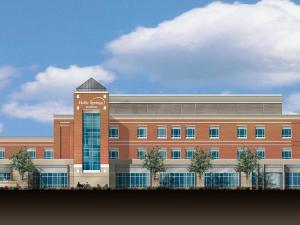Artist's rendering of proposed hospital in Holly Springs