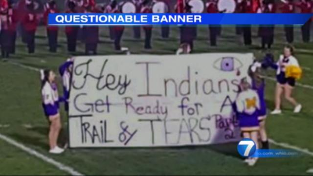 "Thanks to social media and the ease with which we circulate each others' mistakes — I did — most of America knows about a ""Trail of Tears"" banner cheerleaders revealed at a football game. It's a teachable moment that should not pass by. (Deseret Photo)"