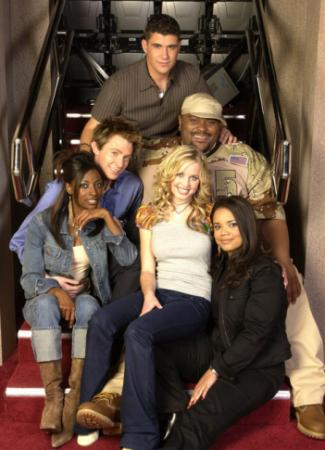 """American Idol"" ""Final 6"" are, clockwise from top: Joshua Gracin, Ruben Studdard, Carmen Rasmusen, Kimberley Locke, Trenyce and Clay Aiken. (Deseret Photo)"