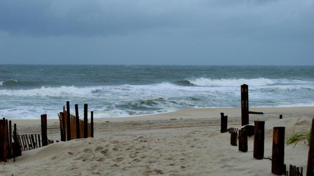 Beach during stormy skies. (Deseret Photo)