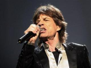 Singer Mick Jagger of The Rolling Stones