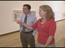 WEB ONLY: Tour of Nasher Museum Exhibit