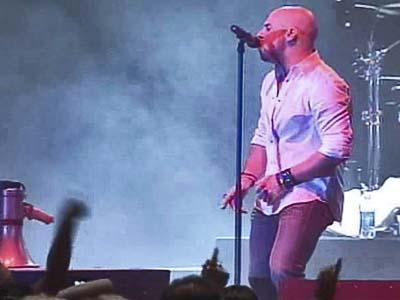 "North Carolina's Chris Daughtry performed for a sold-out crowd of thousands at the Dorton Arena at the North Carolina State Fair. Daughtry placed fourth in ""American Idol,"" but his debut album has sold 3.1 million copies."