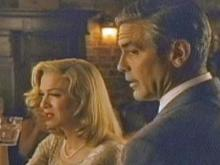 "Renee Zellweger and George Clooney in a scene from their new movie, ""Leatherheads."""
