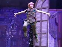 Extended video: Peter Pan teaches Calloway a flying trick