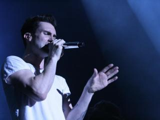 Adam Levine, lead singer of Maroon 5