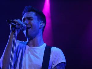 Adam Levine, lead singer of Maroon 5
