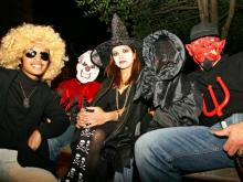 Triangle revelers celebrate Halloween