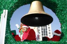 Images from Fayetteville's Rotary Christmas Parade on Dec. 13, 2008.