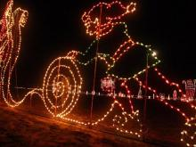 Meadow Lights season starts on Nov. 21 and lasts until Dec. 31. The display is on Godwin Lake Road in Meadow, southeast of Benson.