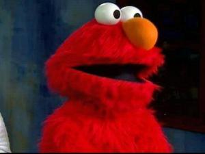 Elmo visits WRAL