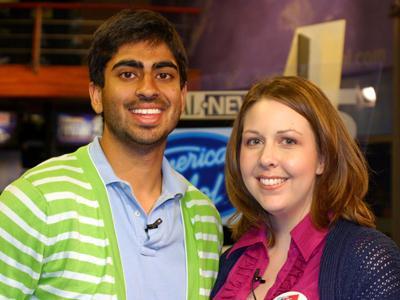 Anoop Desai and Kathy Hanrahan