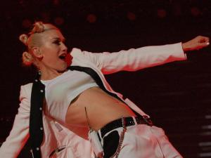 Gwen Stefani, lead singer of No Doubt